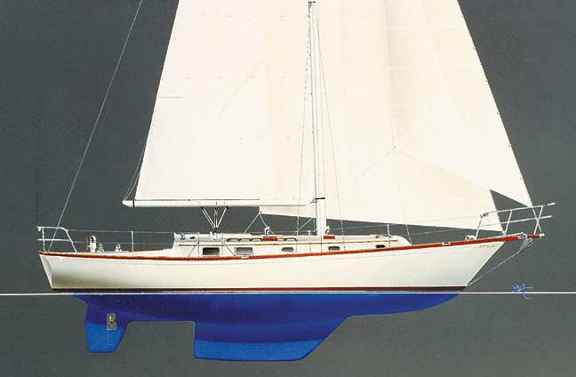 Shannon 39 Fixed Keel or Keel Centerboard