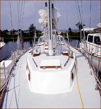Shannon 47 side decks